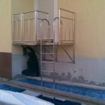 Лестница для басейна