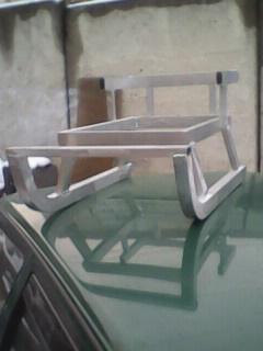 Алюминиевые санки