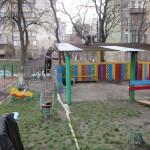 Навес для детской площадки