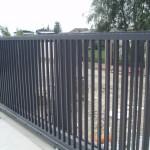 Алюминиевые раздвижные ворота