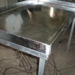 Алюминиевый стол