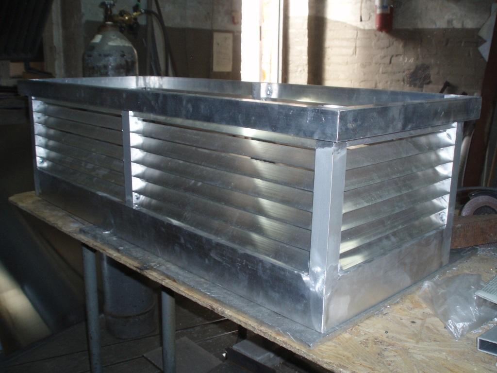 Алюминиевая флюгарка