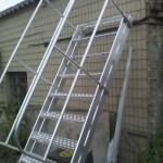 Алюминиевая лестница