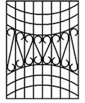 Решетка на окна №41